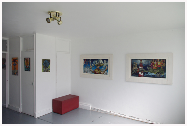 Click the image for a view of: 1. Exhibition interior
